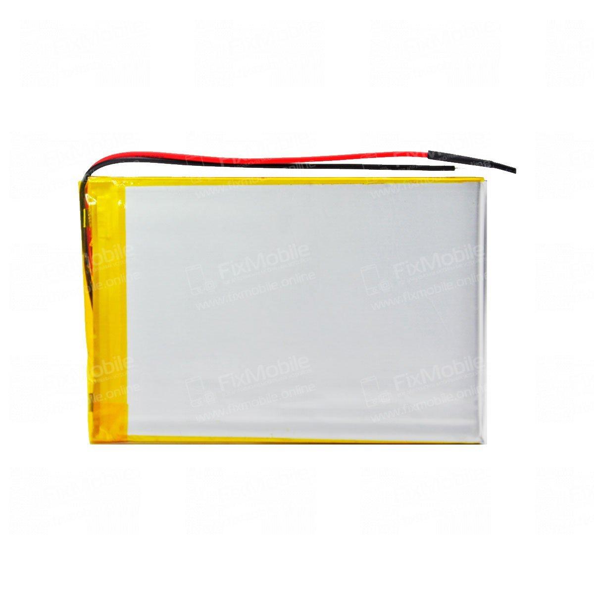 Аккумуляторная батарея универсальная 406090p 3,7v 3000 mAh 4*60*90 мм