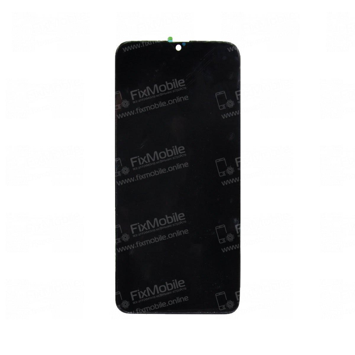 Дисплей для Oppo AX7 с тачскрином (черный)