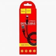 Кабель HOCO X26 Xpress (USB - micro-USB) черно-красный — 3