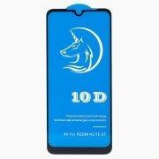 Защитное стекло для Xiaomi Redmi Note 8T (полное покрытие) (черное)