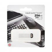 USB-флешка Kingston DataTraveler Kyson 256GB Silver (серебристая)